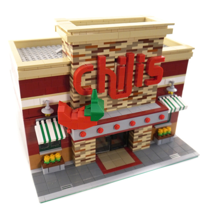 Purchase Custom Lego Instructions Chilis Restaurant