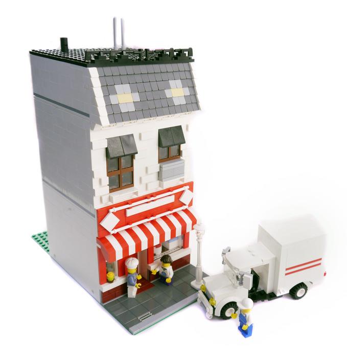 Purchase Custom Lego Instructions Brick City Bakery