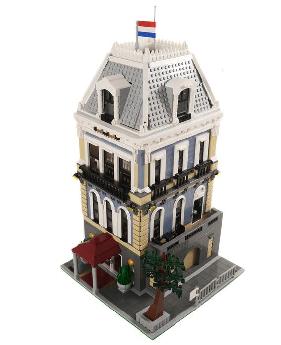 Purchase custom Lego instructions: Amsterdam Hotel
