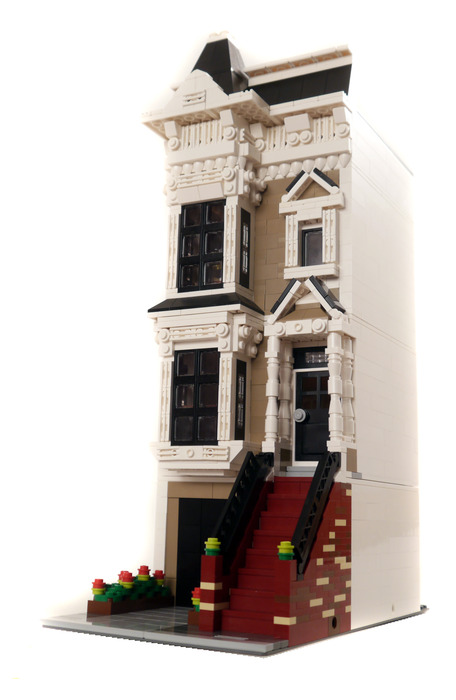 Lego Custom Modular Building San Fran Stick Style House INSTRUCTIONS ONLY!!