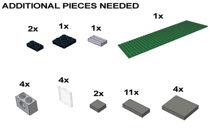 Purchase Custom Lego Instructions Mansard Row House