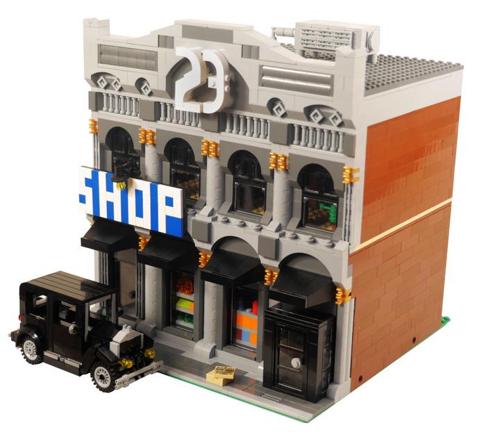 Purchase Custom Lego Instructions Speakeasy