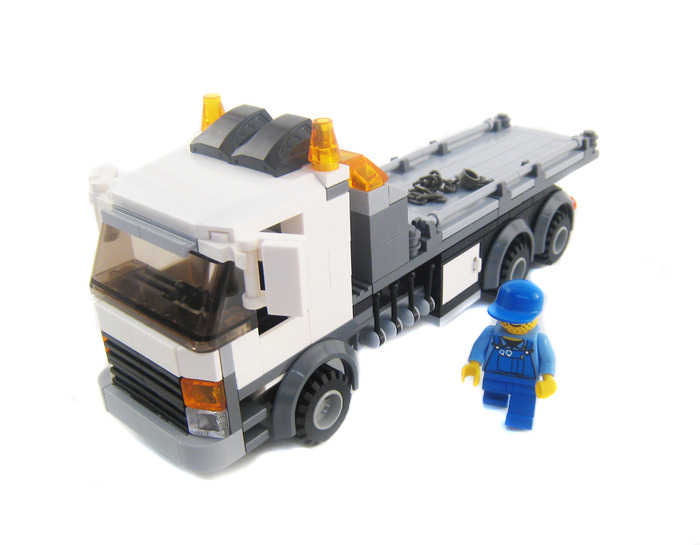 Purchase Custom Lego Instructions Rollback Tow Truck
