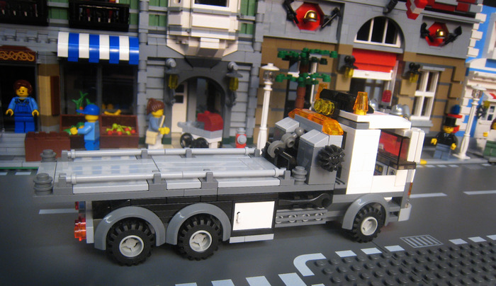 lego flatbed truck instructions
