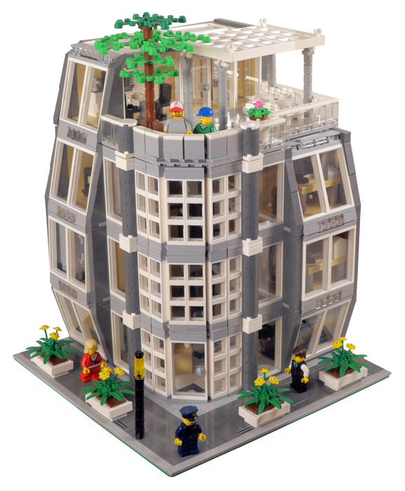Purchase custom Lego instructions: Architecture Firm