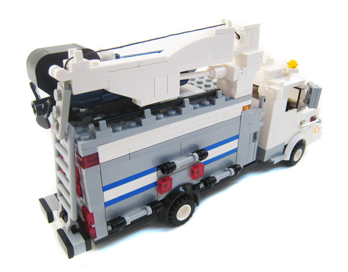 Purchase Custom Lego Instructions Nypd Emergency Support Vehicle