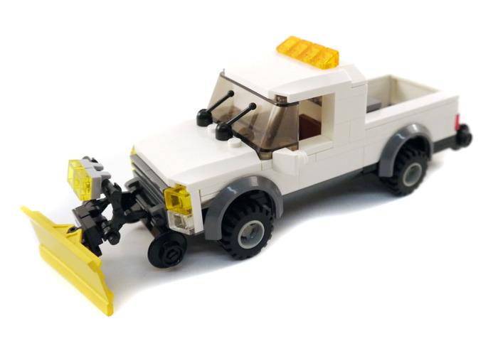 Purchase Custom Lego Instructions Hi Rail Pickup
