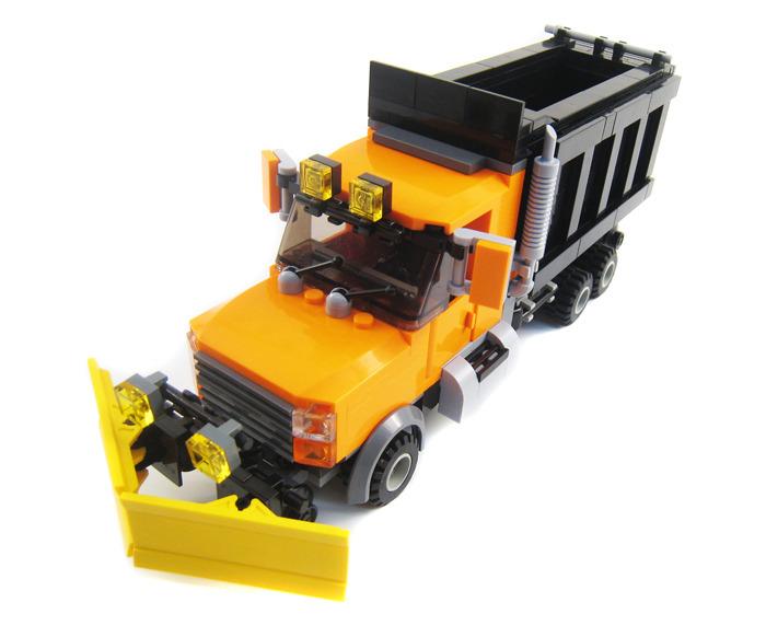Purchase Custom Lego Instructions Hi Rail Dump Truck