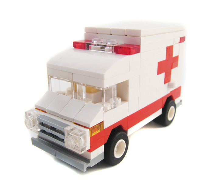 Purchase Custom Lego Instructions Mini Emergency Vehicles