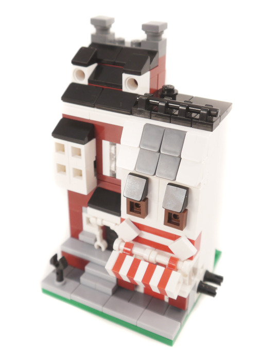 Purchase Custom Lego Instructions Mini Colonial Revival And Bakery