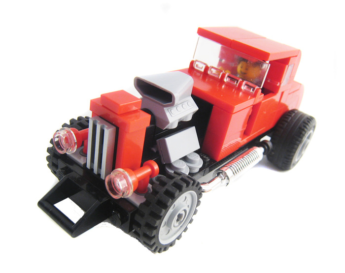 Purchase Custom Lego Instructions Hot Rod