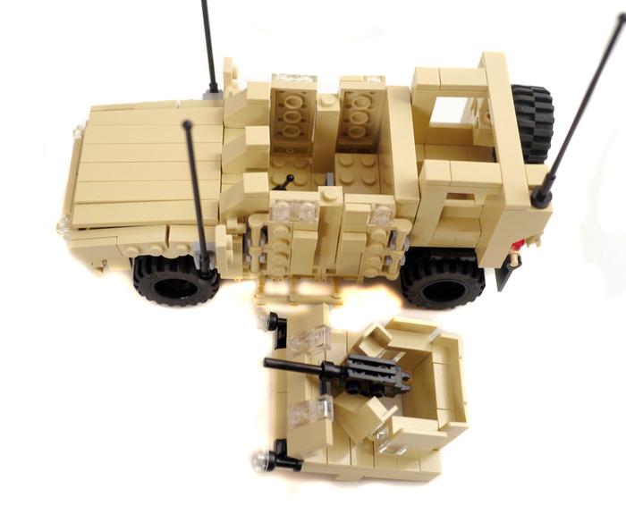 Purchase Custom Lego Instructions Oshkosh M Atv