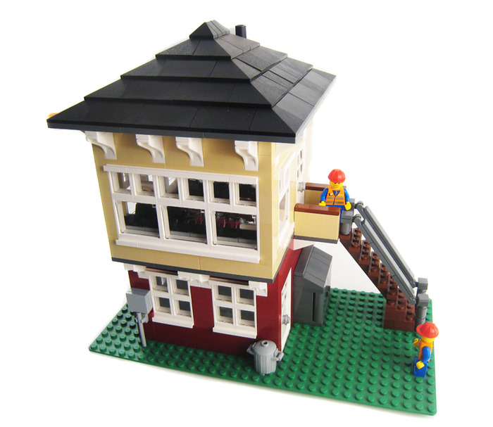 Purchase Custom Lego Instructions Signal Box