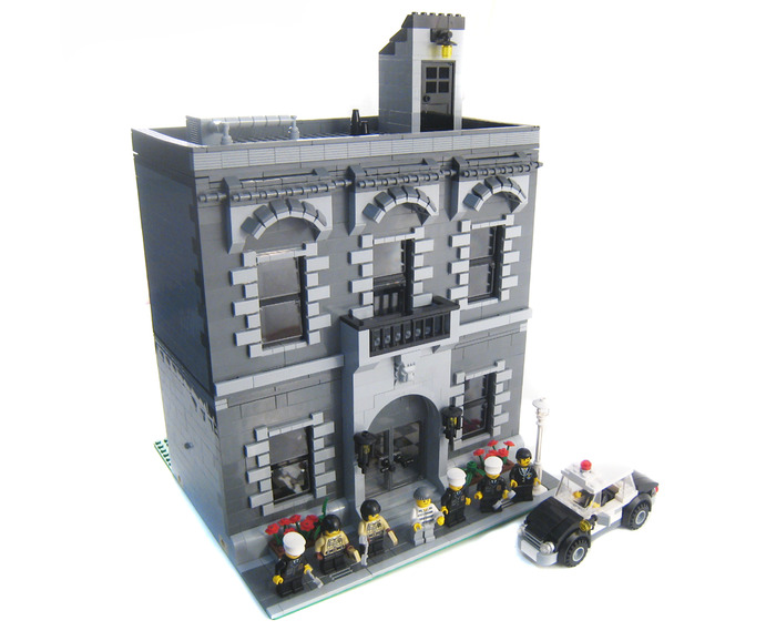 Purchase Custom Lego Instructions Police Precinct