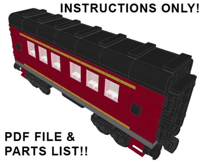 Purchase Custom Lego Instructions Norfolk Southern Passenger Cars