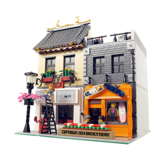 Purchase custom Lego instructions: Commercial Pack 2