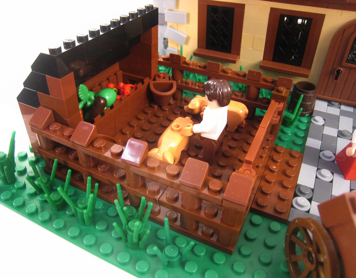 Purchase Custom Lego Instructions Medieval Farm House